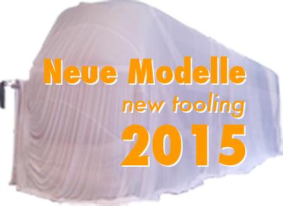 Neue Modelle 2015