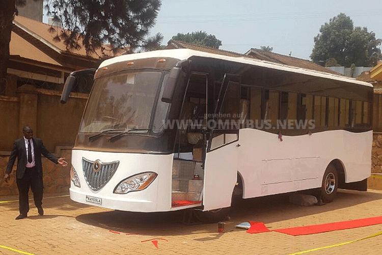 Der erste Elektrobus Afrikas kommt aus Uganda. Foto: Kiira Motors Corporation.
