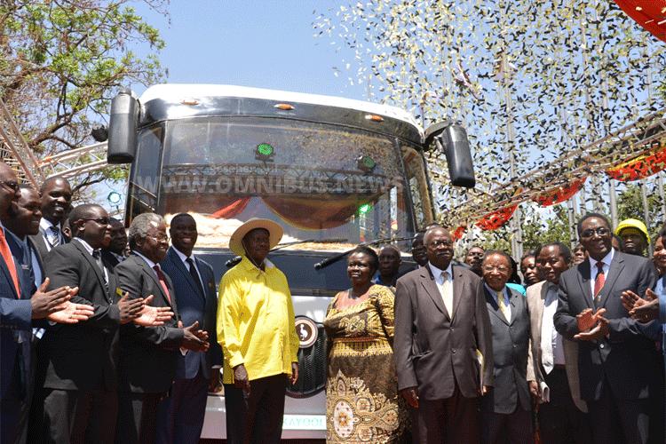 Elektrobus aus und für Afrika