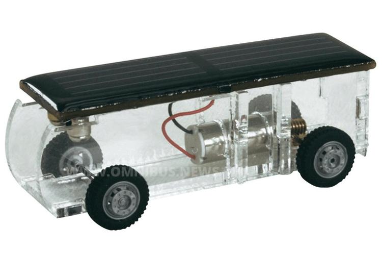 Kleiner Solar-Bus