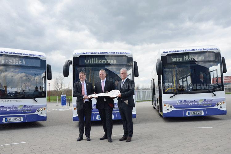 EBE Europa liefert E-Busse aus