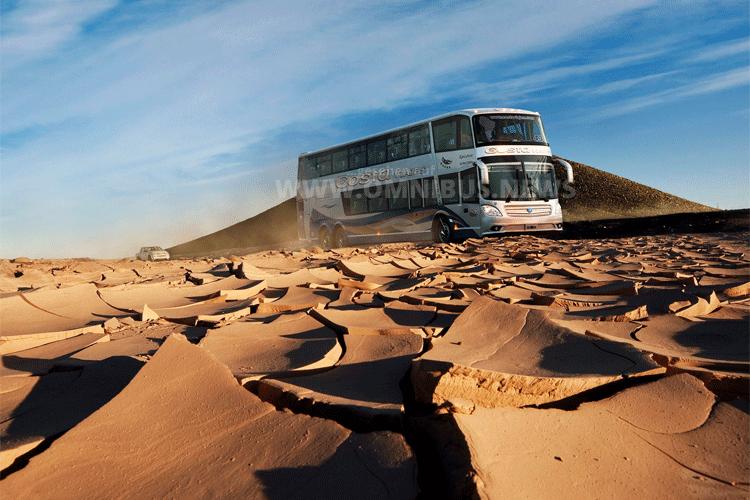 Mit Scania durch die Wüste