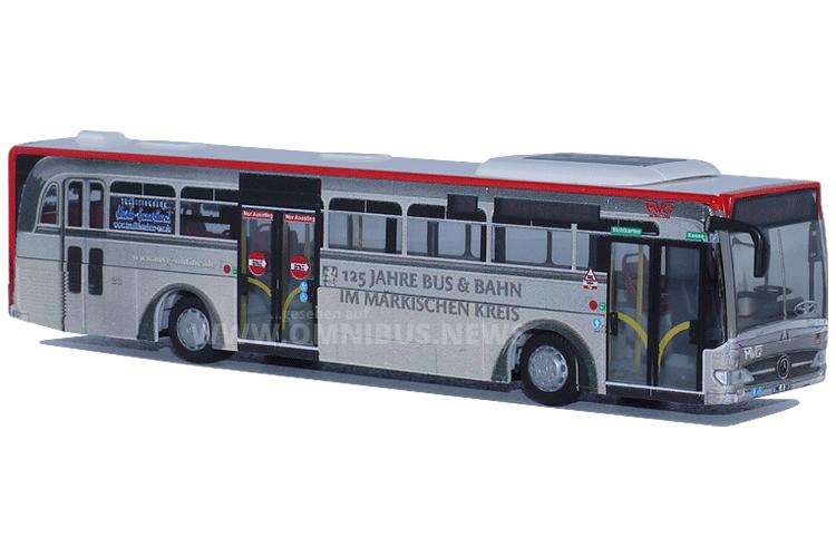 Der Linienbus zum 125-jährigen Jubiläum der MVG. Foto: Schreiber
