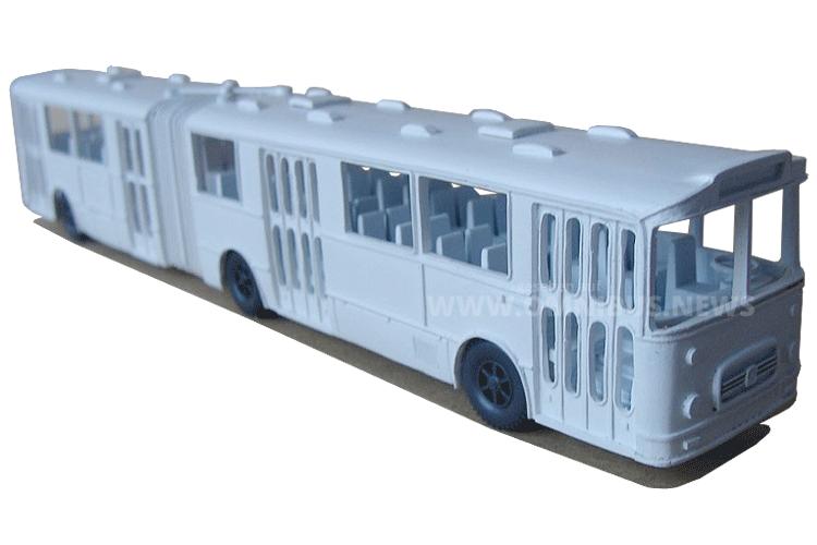 Erster Gelenkbus Europas