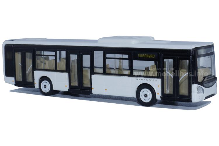 Iveco Bus Urbanway im Maßstab 1/87 von Norev. Foto: Schreiber