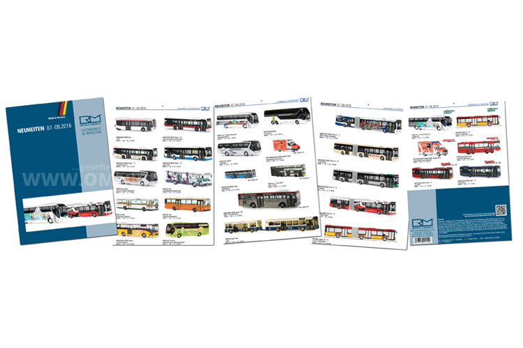 Rietze kündigt für Juli und August insgesamt 24 Modellbusse an. Fotomontage: omnibus.news