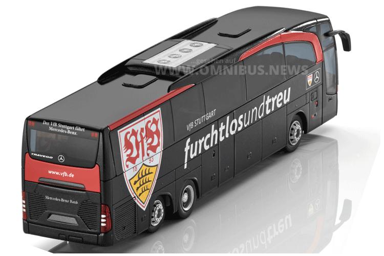 Der kleine Mannschaftsbus aus Stuttgart. Foto: Mercedes-Benz