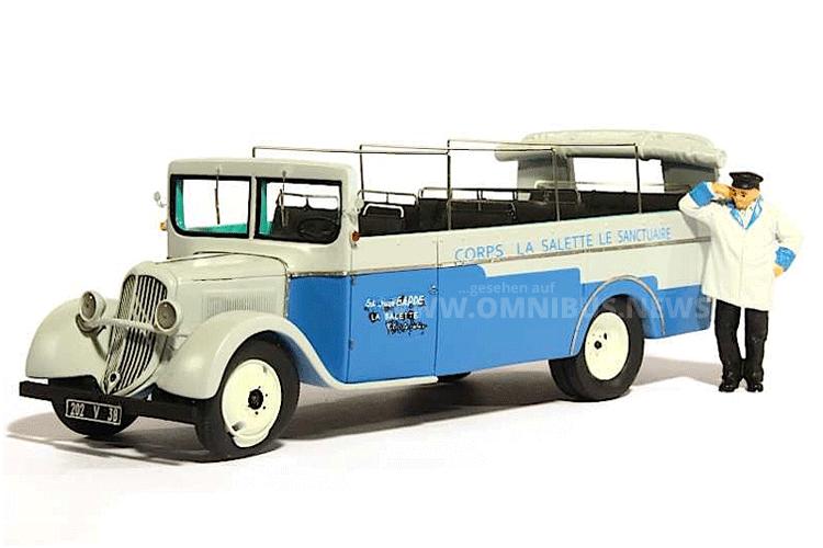 Neu im Perfex-Programm: Ein Cabriobus von Chaboud auf Citroen-Basis. Foto: Schreiber