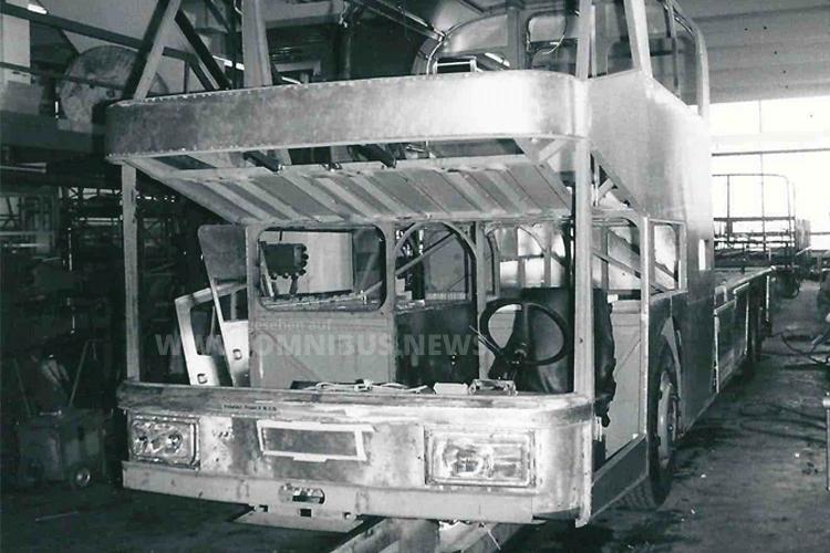 Ende der 70er Jahre schuf Neoplan mit dem Spaceliner eine neue Buskategorie. Foto: Kraus