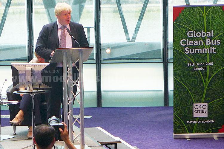 Boris Johnson sorgte schon mit dem NBfL für Aufsehen.