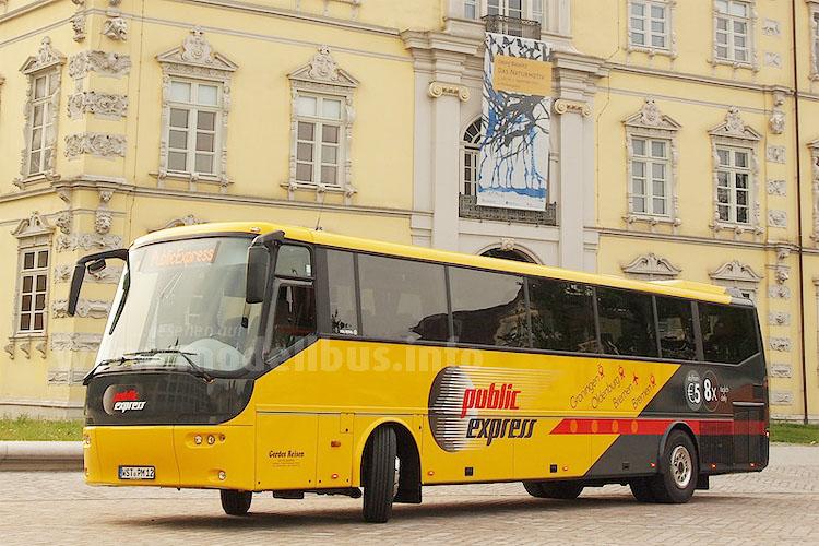 Fernbuskunden müssen umsteigen