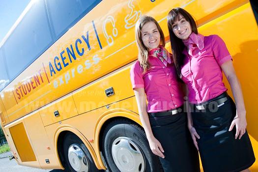 Neu auf dem deutschen Fernbusmarkt: Studetn Agency aus Tschechien.