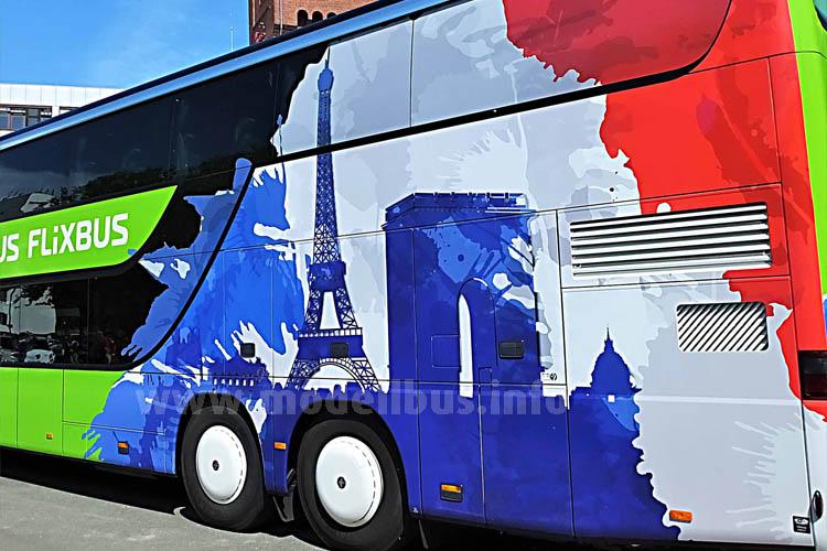 Frankreich bekommt Fernbusse