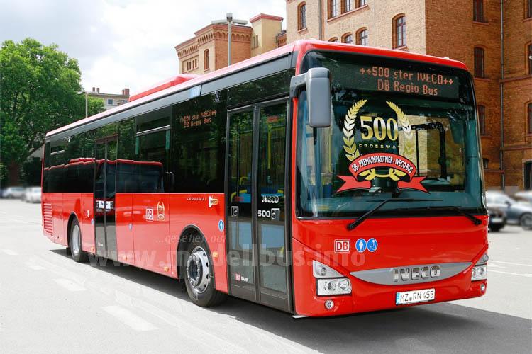 Der 500ste Crossway für DB RegioBus.