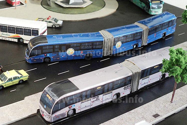 BRT im kleinen Maßstab