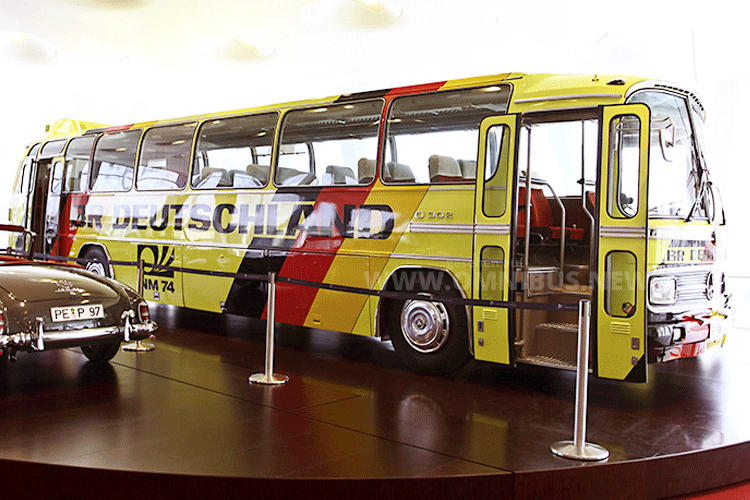WM Bus 1974 Mercedes Benz O 302