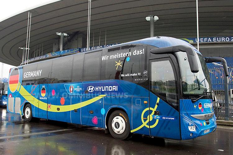UEFA EURO 2016 Teambusse