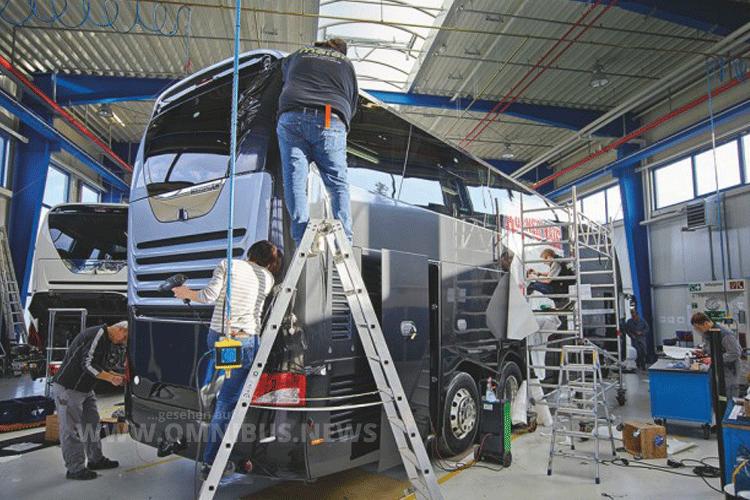 Im BMC in Plauen werden individuelle Ausbauwünsche realisiert. Foto: AMN