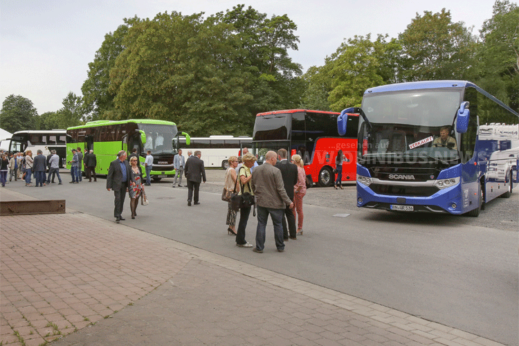 Scania Interlink Deutschlandpremiere