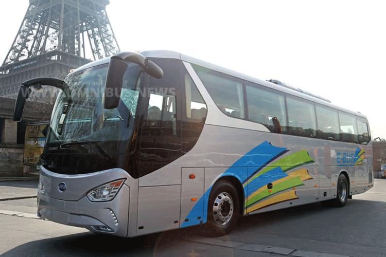Elektro-Reisebus BYD