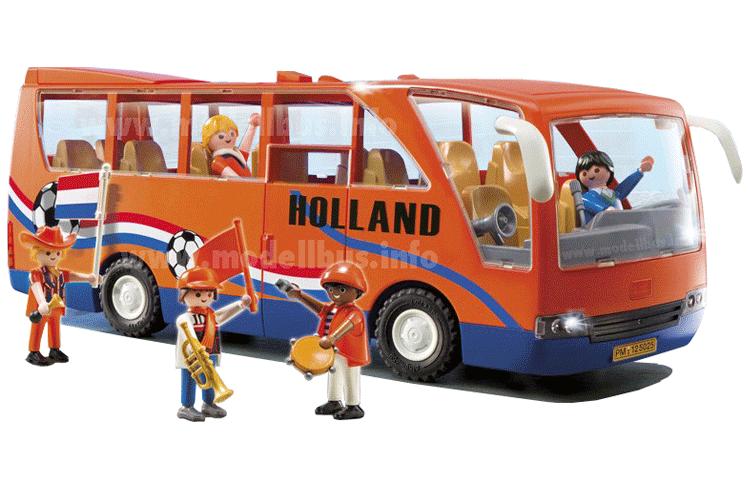 Holländischer Fanbus von Playmobil. Foto: Playmobil