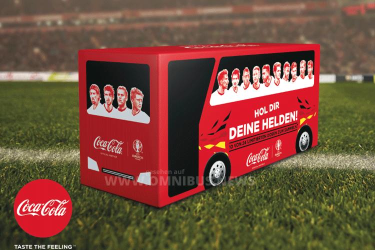 Coca-Cola Teambus