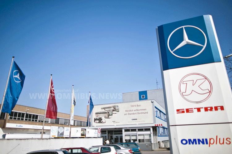 Minibus Fertigung Daimler Dortmund