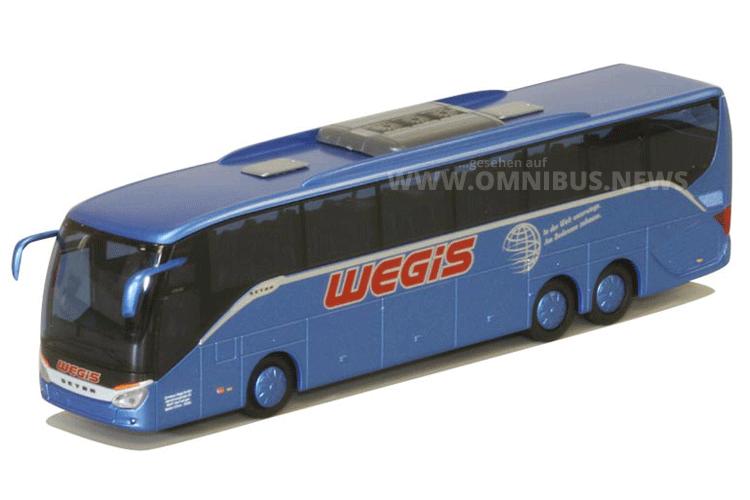 Teil der AWM-Auslieferung 02/2016: Die neue ComfortClass als Werbemodell für Wegis. Foto: AWM