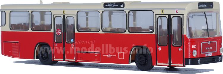 Neu im Angebot von Rietze: Der MAN SL 200 im Maßstab 1/87.
