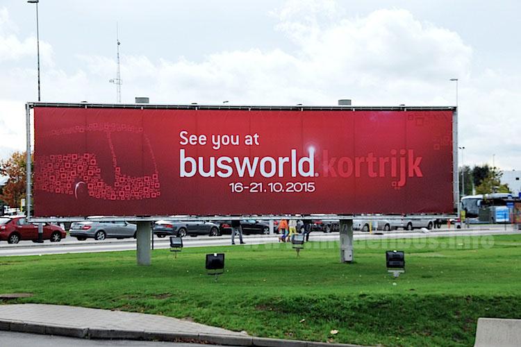 Mitte Oktober startet die Busworld 2015, die Leitmesse für Omnibusse.