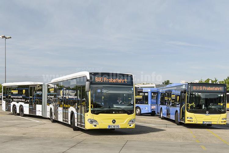 Die BVG testet mit dem CapaCity L und Buszug in den nächsten Wochen neue Gefäßgrößen.