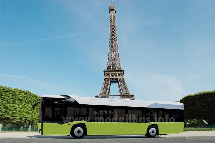 Paris testet neuen Solaris-Elektrobus