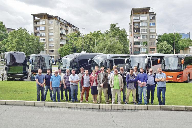 Die Jury: Omnibus-Journalisten aus ganz Europa entschieden sich mehrheitlich für den Iveco.
