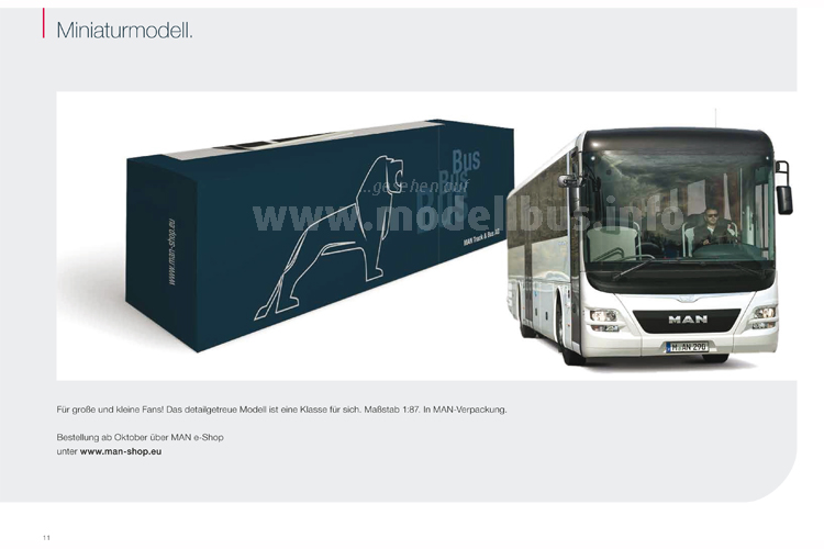 MAN kündigt im neuen Marketing-Toolkit zum Lions Intercity auf Seite 11 auch einen Modellbus an!