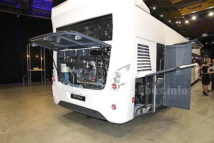 Als Antrieb setzt VDL auf den DAF MX 13 375.