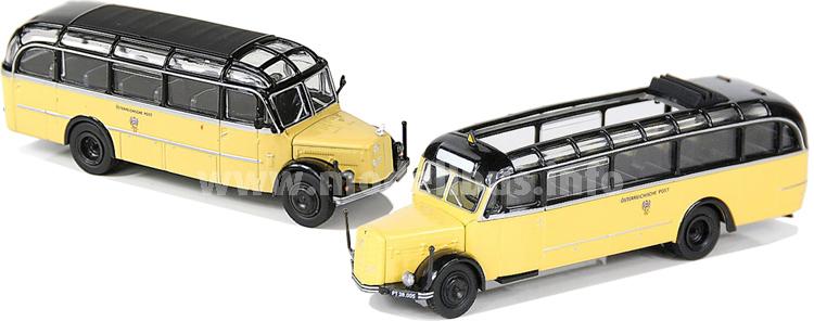 Starline Models hat mit dem Saurer und Gräf & Stift zwei weitere Modellbusse ausgeliefert.
