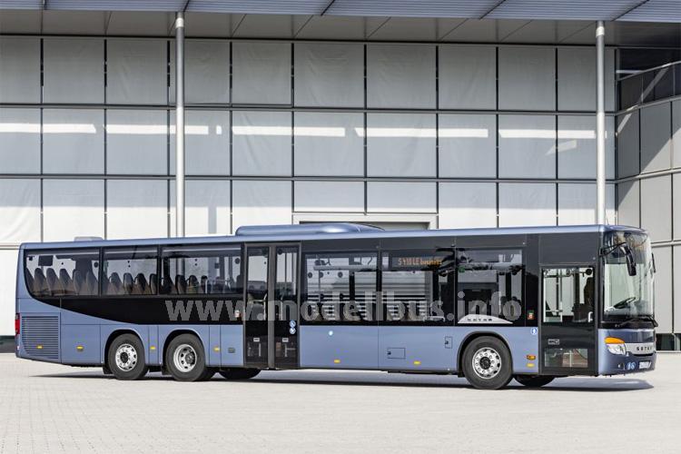 Der Setra S 418 LE business ist aus dem Baukasten der MultiClass 400-Baureihe entstanden.