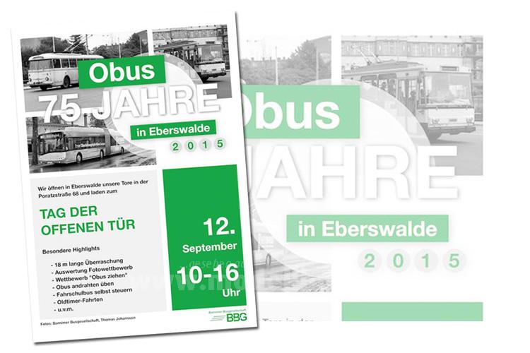 Zum Jubiläum gitb es einen Tag der offenen Tür in Eberswalde.
