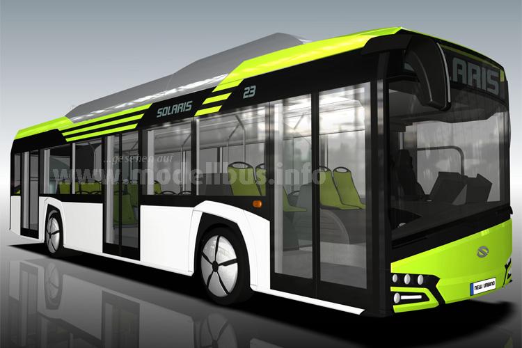 Weltpremiere für den neuen Elektrobus...