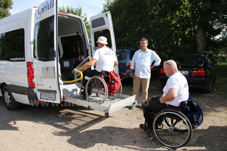 Die Verkehrsgesellschaft Bregtal sorgte für Mobilität: Mit Rollstuhllift und ...