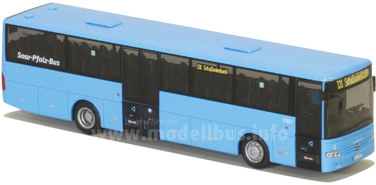 Der Mercedes-Benz Intouro ist Teil des Fuhrparks der Saar-Pfalz-Bus, AWM hat den entsprechenden Modellbus aufgelegt.