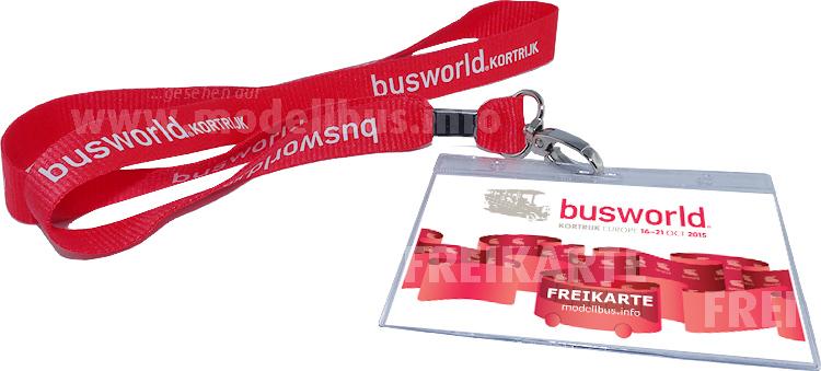 Wer weiß, wann die Busworld zum ersten Mal stattfand, kann eine Freikarte gewinnen!