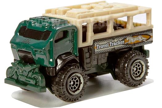 Ist im Film Jurassic World gar nicht zu sehen: Der Travel Tracker von Matchbox.