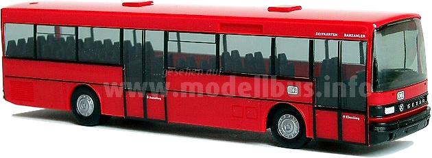 Neu aufgelegt: Der Setra S 215 SL von Herpa.