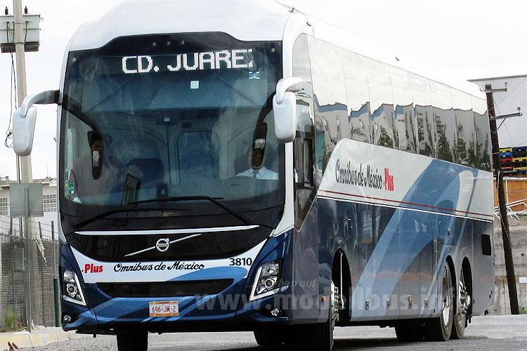 Die Frontmaske des mexikanischen Volvo 9800 stünde auch europäischen Bussen der Marke gut...