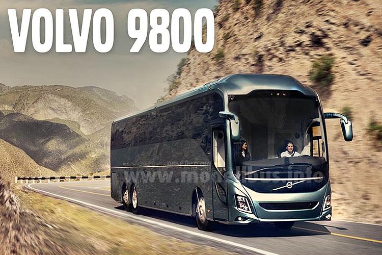 In der Werbekampagne von Volvo ist der neue Reisebus - mit Blick auf die Linienführung - richtig gut in Szene gesetzt!