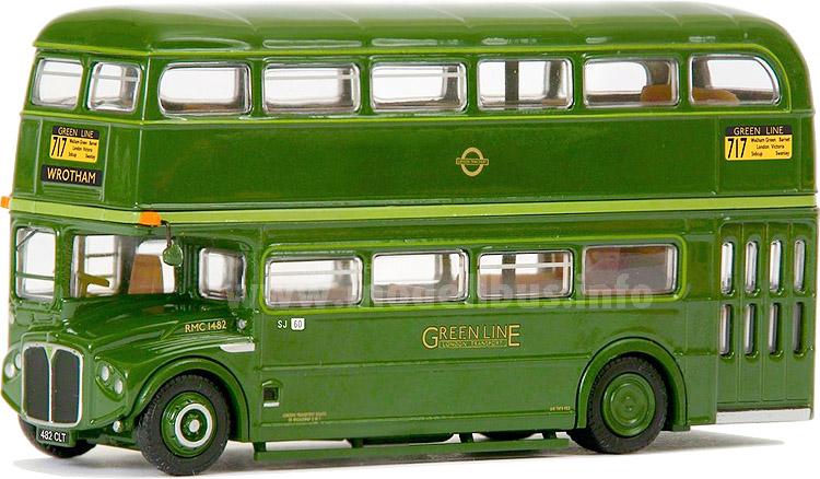 Mit einem AEC Routemaster in Greenline-Ausführung ergänzt der Shop des London Transport Museums sein Angebot an Modellbussen.