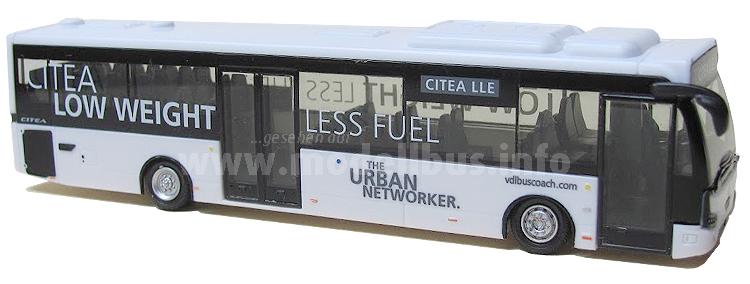 Holland Oto den Citea LLE - beide Modelle sind aus Kunststoff und im Maßstab 1/87.