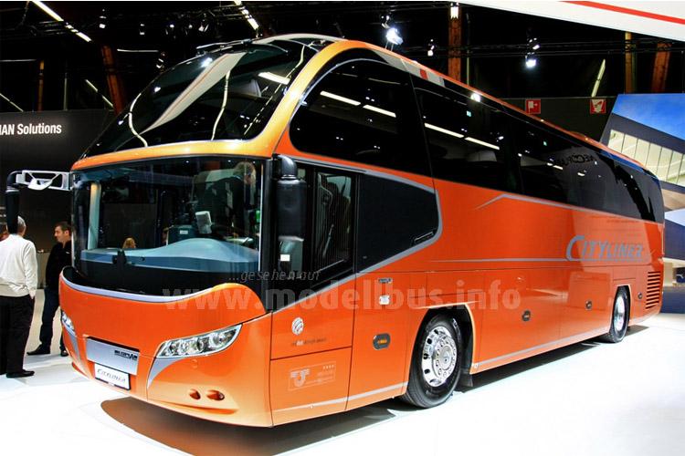 Auch der Cityliner wurde im BMC individualisiert.