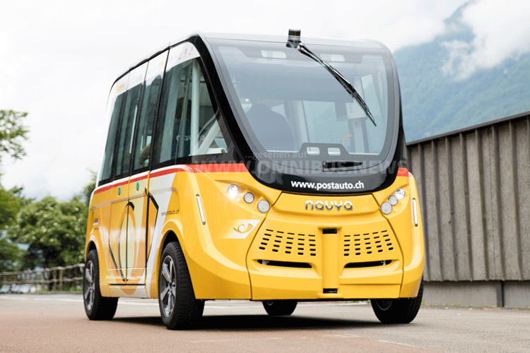 PostAuto autonomes Busfahren